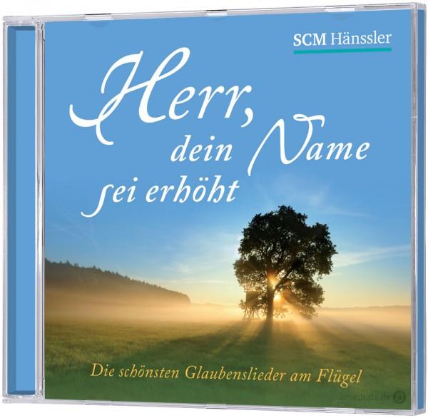 Herr, dein Name sei erhöht - CD