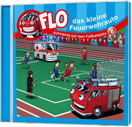 Flo - Das kleine Feuerwehrauto (8) - CD