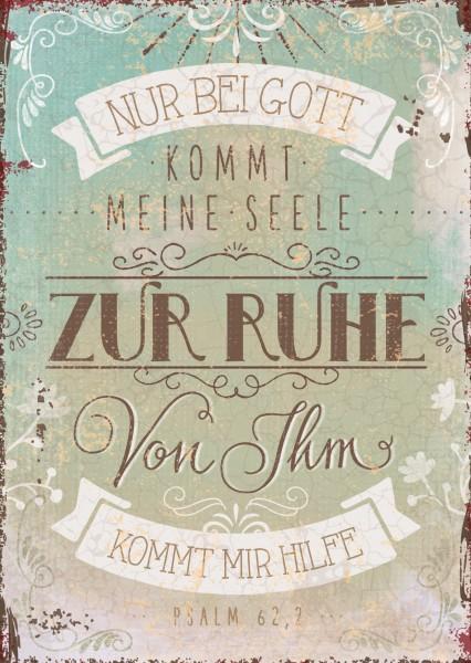 "Postkarte ""Zur Ruhe"""