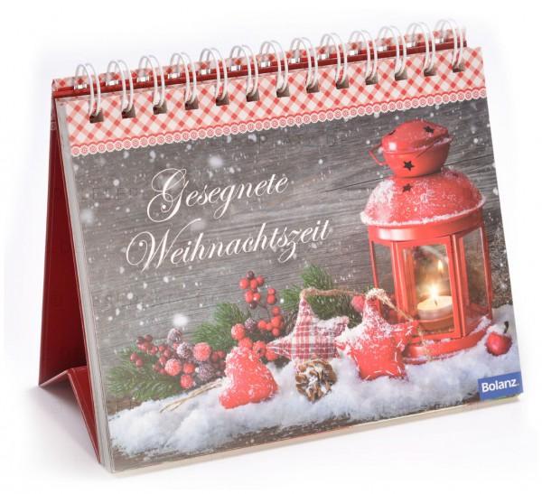 Gesegnete Weihnachtszeit - Aufstellbuch
