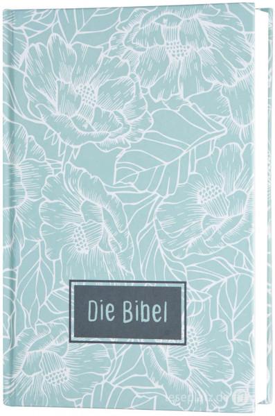 """Elberfelder 2003 - Taschenausgabe / Hardcover """"Blumen"""""""