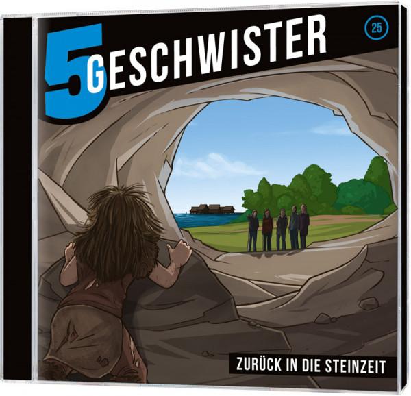 5 Geschwister CD (25) - Zurück in die Steinzeit