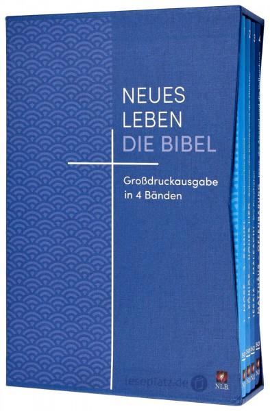Neues Leben. Die Bibel - Großdruckausgabe in 4 Bänden