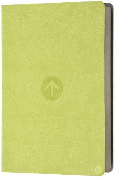 Schlachter 2000 Taschenausgabe - PU-Einband grün / grauer Farbschnitt