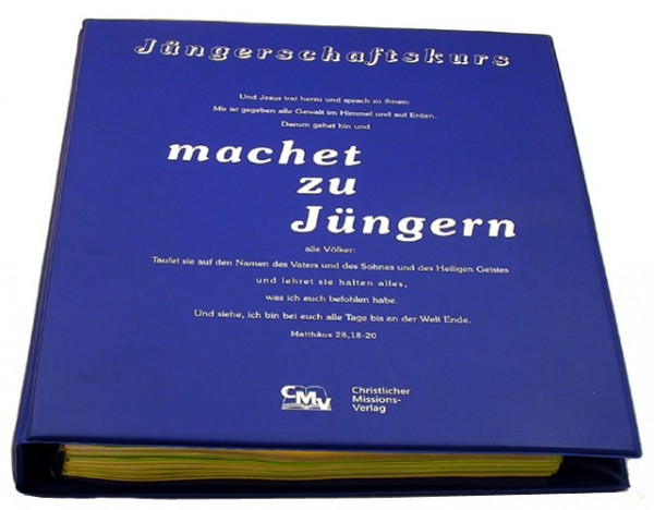 """Jüngerschaftskurs """"machet zu Jüngern"""" - Schülerausgabe"""