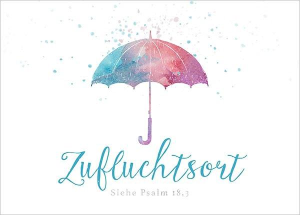 "Postkarte - Big Blessing ""Zufluchtsort"""