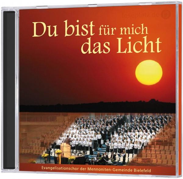 Du bist für mich das Licht - CD