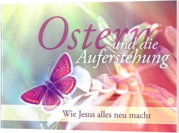 Ostern und die Auferstehung - Evangelistisches Grußheft