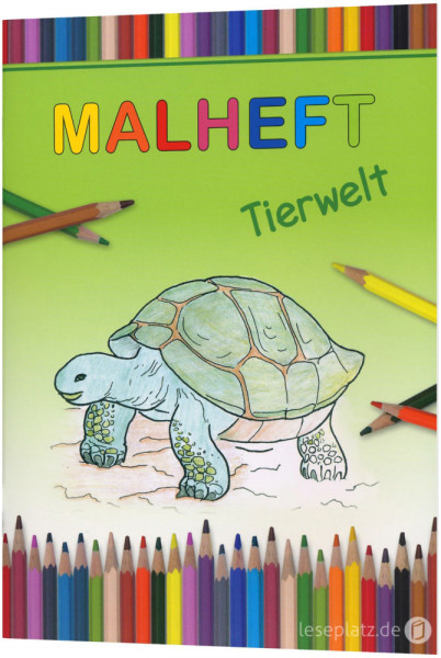 """Malheft """"Tierwelt"""""""