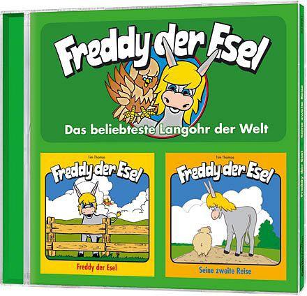 Freddy der Esel - Folge 1 + 2 Doppel-CD