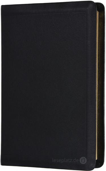 Elberfelder 2003 - Standardausgabe / Kalbsleder Goldschnitt mit Schutzklappen