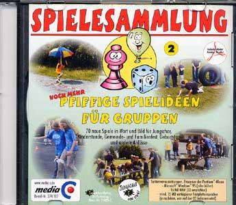 CD-ROM Spielesammlung 2