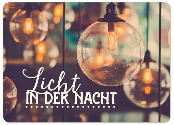 """Postkarte """"Big Blessing - In der Nacht"""""""