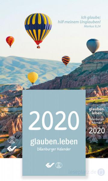 glauben.leben 2020 - Abreißkalender