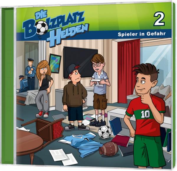 Die Bolzplatzhelden (2) - Spieler in Gefahr