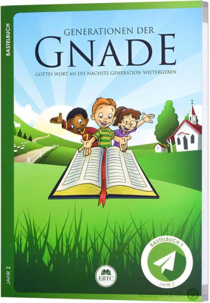 Bastelbuch - Jahr 3 - Generationen der Gnade