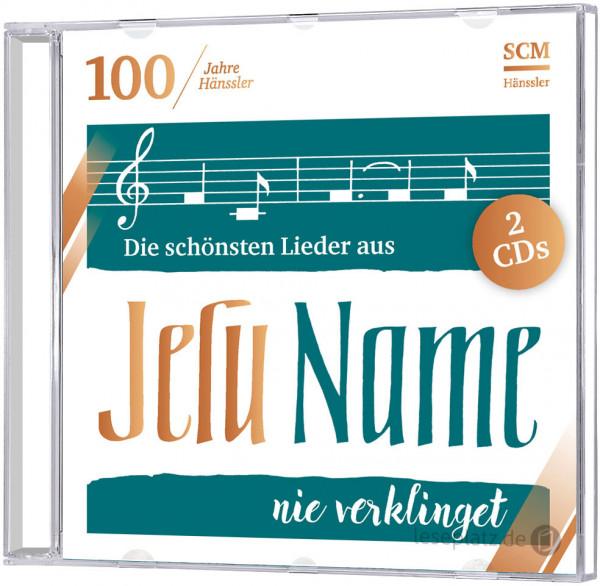 """Die schönsten Lieder aus """"Jesu Name nie verklinget"""" - Doppel-CD"""
