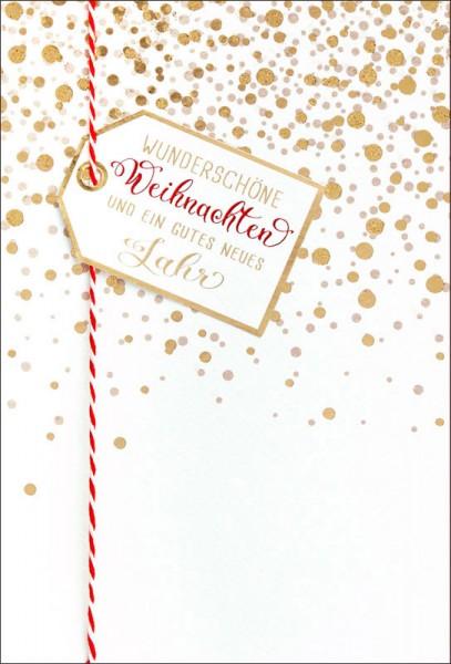 """Faltkarte """"Wunderschöne Weihnachten"""""""