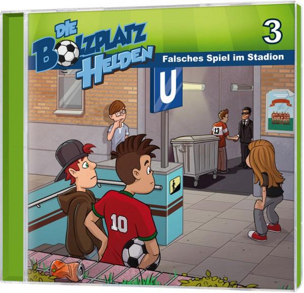Die Bolzplatzhelden (3) - Falsches Spiel im Stadion