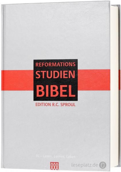 Reformations-Studien-Bibel - Hardcover grau