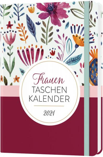 Frauen Taschen Kalender 2021 - Ornamentausgabe