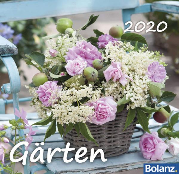 Gärten 2020 - Tischkalender
