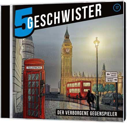 5 Geschwister CD (17) - Der verborgene Gegenspieler