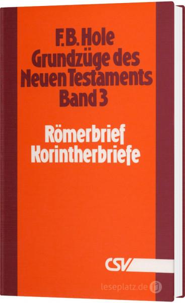 Grundzüge des Neuen Testaments - Band 3
