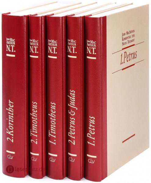Buchpaket MacArthur-Kommentare (5 Bände)