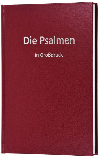 Elberfelder 2003 - Die Psalmen in Großdruck
