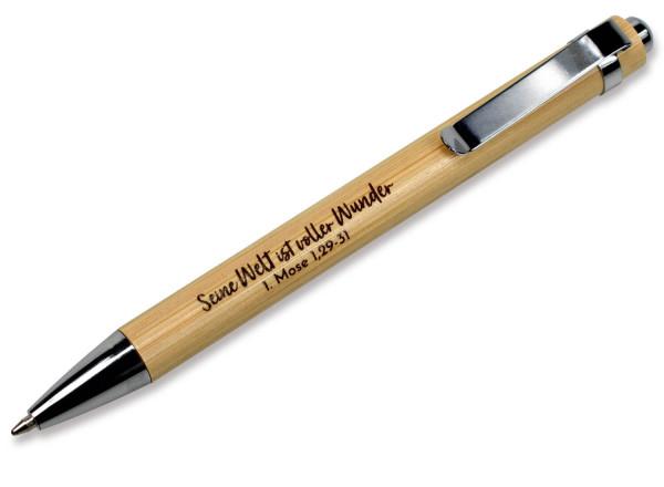 """Kugelschreiber """"Bambus"""""""