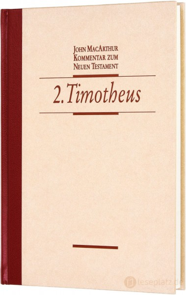2.Timotheus - Kommentar