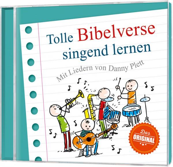 Tolle Bibelverse singend lernen - CD