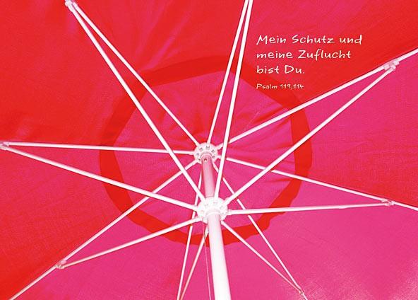 Postkarte ''Mein Schutz''