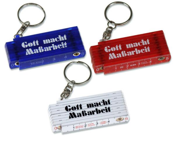 """Schlüsselanhänger """"Mini-Zollstock"""""""