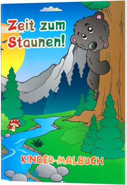 Zeit zum Staunen! - Kinder-Malbuch