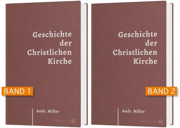 Geschichte der christlichen Kirche - Band 1 + 2