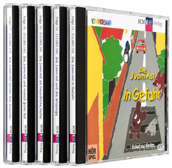 Die 3 vom Ast ... - CD-Folge 13-17 im Paket