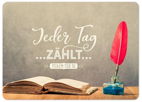"""Postkarte """"Big Blessing - Jeder Tag zählt"""""""