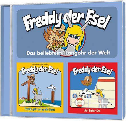 Freddy der Esel - Folge 9 + 10 Doppel-CD