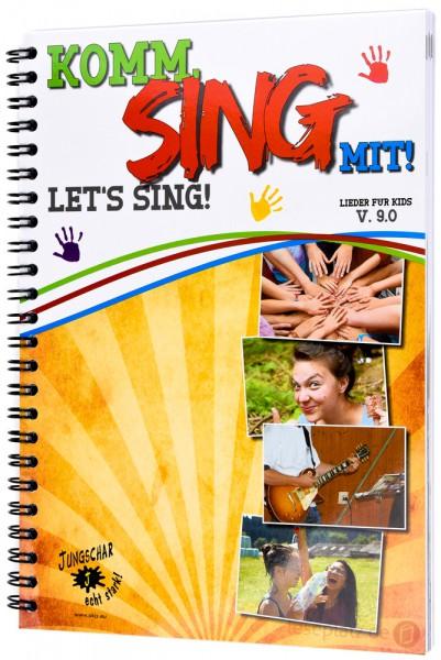 Komm, sing mit! - Let's sing! V. 9.0 - Notenausgabe