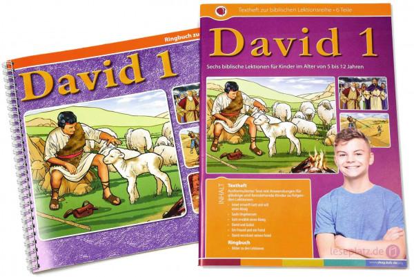 David 1 - Lektionen-Set