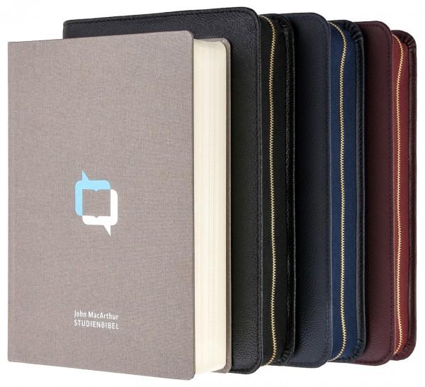 MacArthur Studienbibel - Hardcover mit Rindlederhülle
