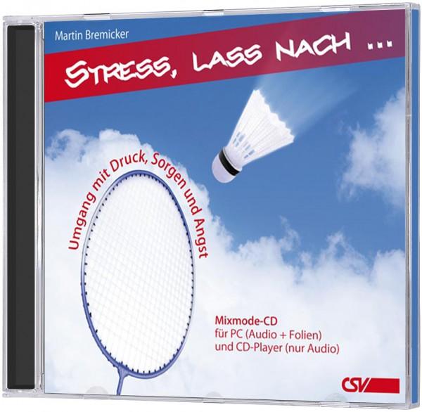 Stress, lass nach ... - CD