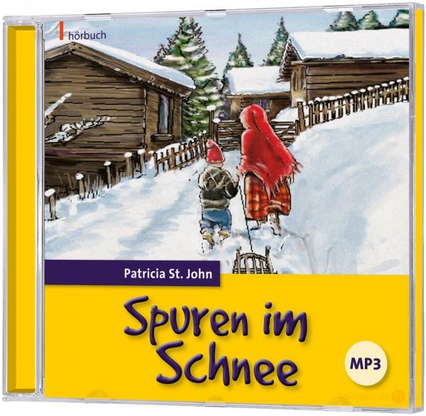 Spuren im Schnee - MP3-Hörbuch