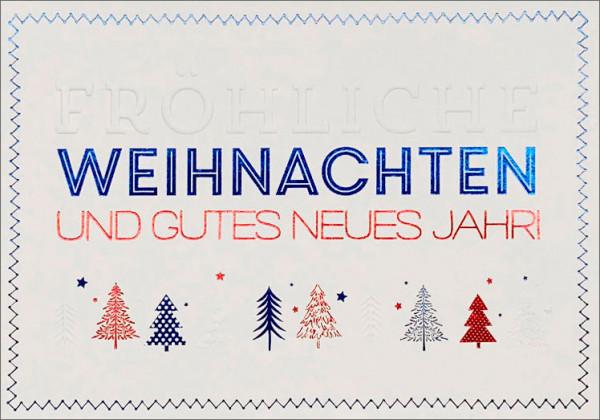 """Faltkarte """"Tannenbäume"""""""