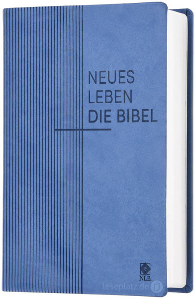 Neues Leben. Die Bibel - Standardausgabe - Kunstleder blau