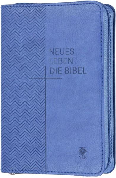 Neues Leben. Die Bibel - Taschenausgabe - Kunstleder mit Reißverschluss