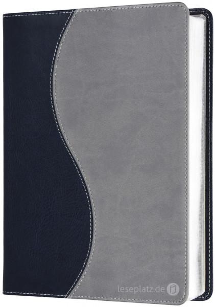 Elberfelder 2003 - kl.Schreibrandausgabe / PU-Einband zweifarbig / Silberschnitt