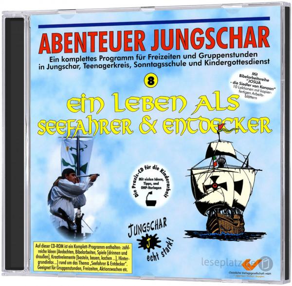 Ein Leben als Seefahrer und Entdecker - CD-ROM Abenteuer Jungschar 8